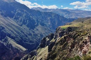 Peisaj din Canionul Colca din Peru