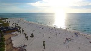 clearwater beach plaja florida