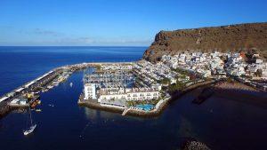 Insula Gran Canaria, imortalizată de la înălțime de o dronă