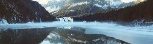 Peisaj din munții elvețieni