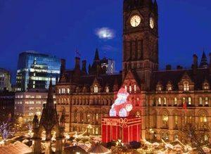 Târgul de Crăciun din Manchester