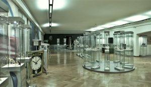 Poză din interiorul muzeului Omega de la Biel