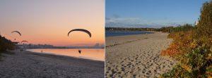 Plajele Pirita și Stroomi, toamna