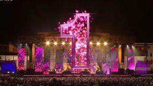 Numărătoarea inversă pe o scenă din Berlin în noaptea dintre ani
