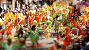 Paradă stradală în Bahamas, cu ocazia festivităților de anul nou